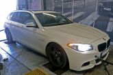 BMW 530D 180kW Insane chiptuning stage 1 galios didinimas
