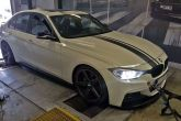 BMW F30 335i 225kW Insane chiptuning stage1+ galios didinimas